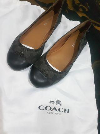 Coach shoes chelsea smoked black size 7 ori