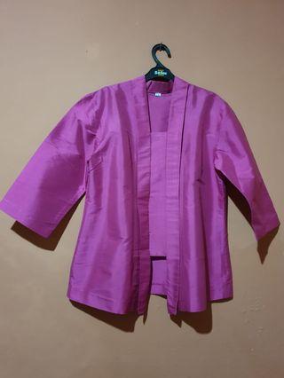 Pink kebaya set
