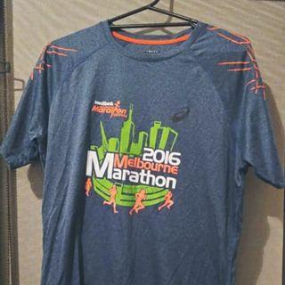 Asics motion dry Melbourne Marathon top XL
