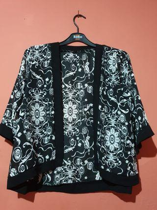 Black abstract outer