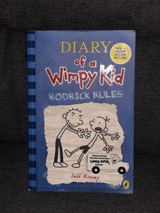 🚚 Diary Of A Wimpy Kid - Rodrick Rules