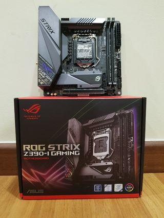 Asus Rog Stric z390-i (used less than 1 month)