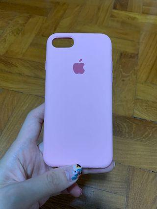🚚 Pink iPhone 7/8 silicon case