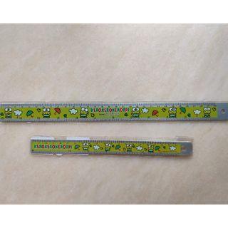 Sanrio Keroppi 青蛙仔 鐵間尺(附乘數表) 2個