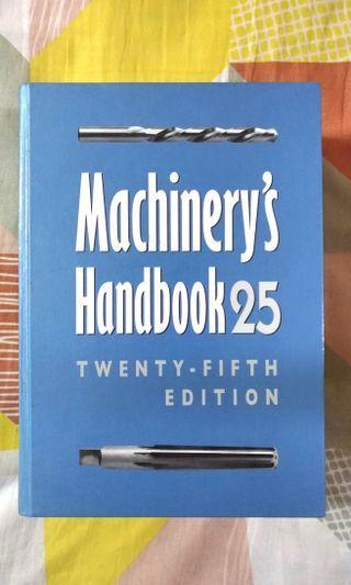 Machinery's Handbook 25th Edition