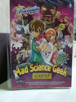 Profession Series 09 - Mad Science Geek (Scientist)