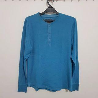 H&M long sleeve blue size M
