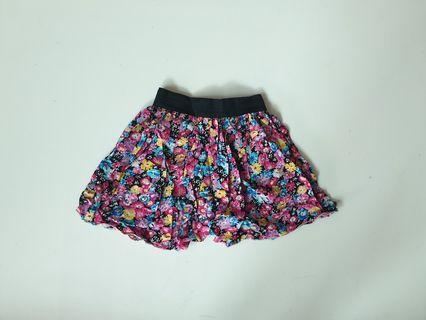 Floral Puffy Skirt