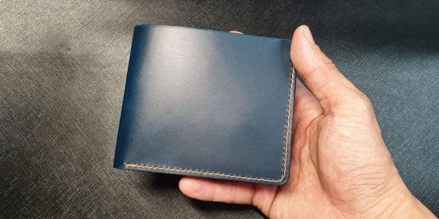 Handcrafted Men's Wallet with 100% Italian leather