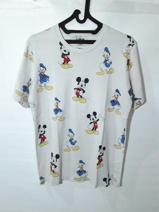 Uniqlo x disney full print tshirt