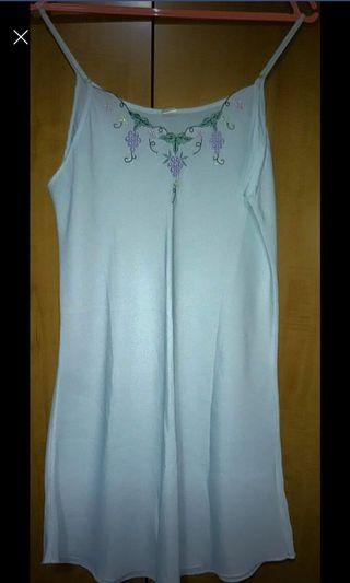 BN sheer night gown size XL