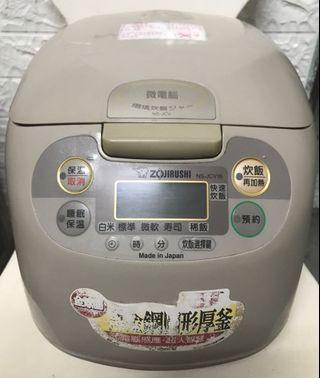 🚚 日本製)象印微電腦電子鍋 1.8L/10人 NS-JVC18,內鍋B121