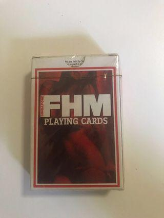 🚚 FHM playing cards