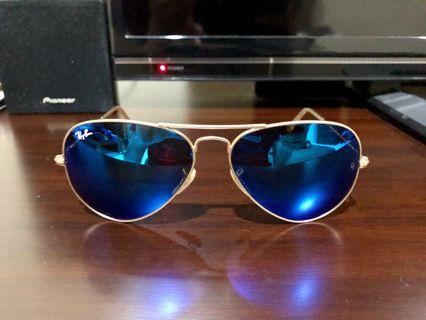 Kacamata Original Rayban Aviator 3025 112/17