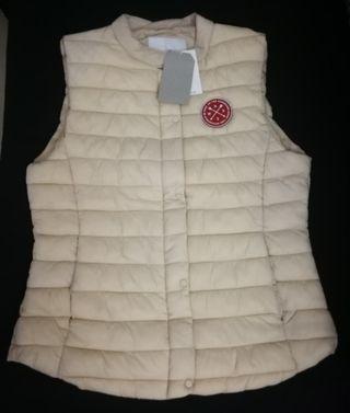 Women's vest ( fake down) 夾棉背心