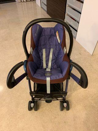 Maxi-Cosi Stroller and Car Seat Set
