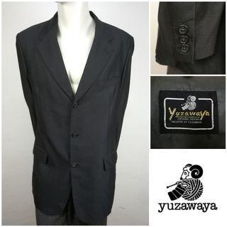 YUZAWAYA (Black) Single Breasted Blazer Jacket