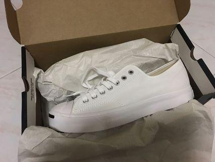 Converse Jack Purcell Low Top Canvas White