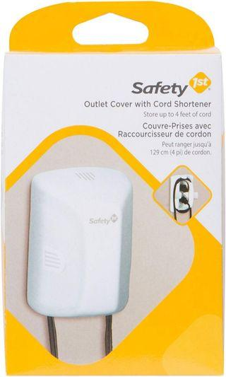 Safety 1st First Outlet Cover with Cord Shortener
