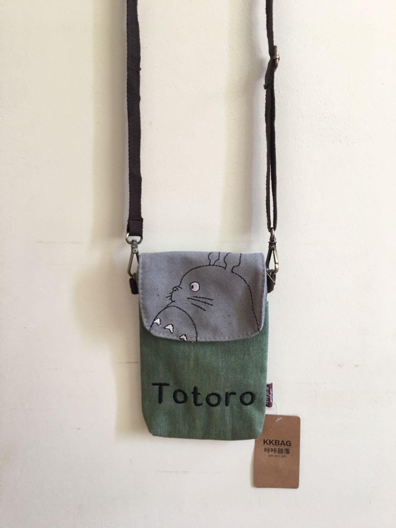 宮崎駿 龍貓 多夾層 手機小包