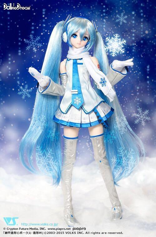雪初音 volks DD Miku x Dollfie Dream 初音未來 Snow 雪公主 2019