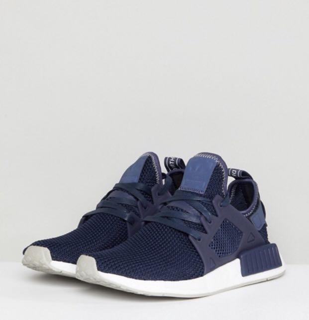 best sale cheap for discount differently adidas Originals NMD Xr1 Trainers In Dark Blue, Men's ...
