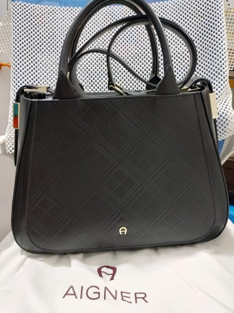 Aigner handbag original/authentic