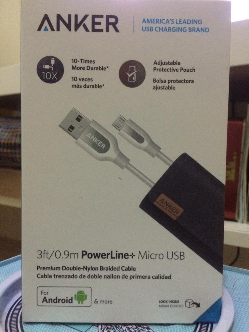 Anker 3ft Powerline+ Micro USB Cable