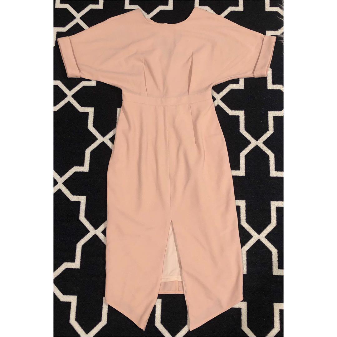 ASOS Pink Midi Dress