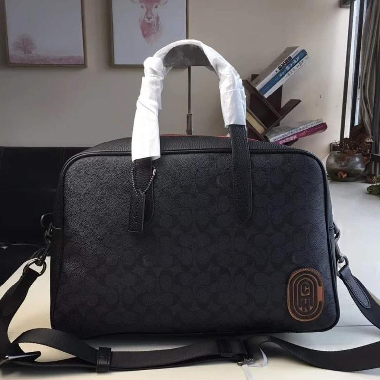 5a1cebdd7d Authentic Coach F73854 Metropolitan Soft Carryall - Black on Carousell