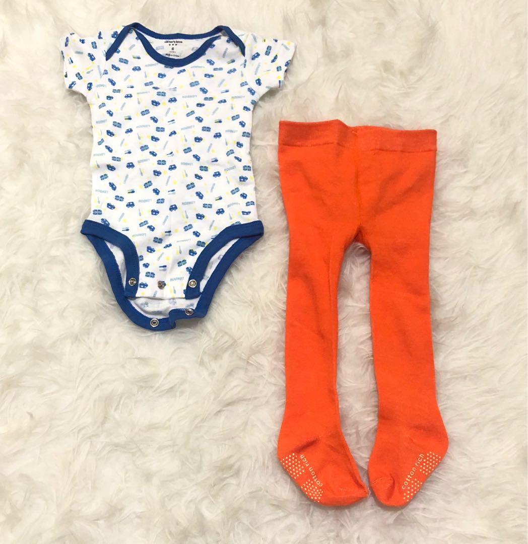 Jumper and Legging Bayi 0-3 Bulan