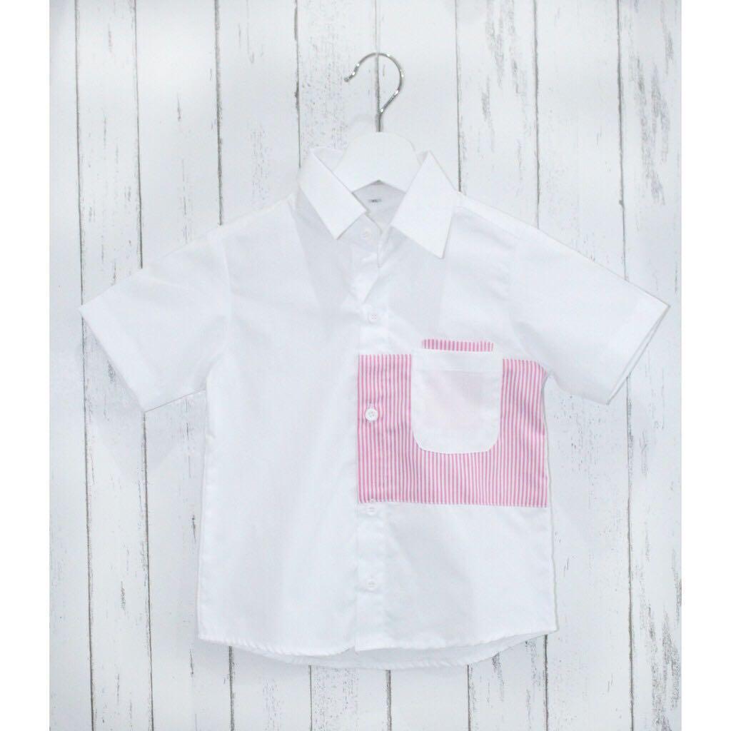 Baju Kembaran Keluarga / Kemeja pria pink