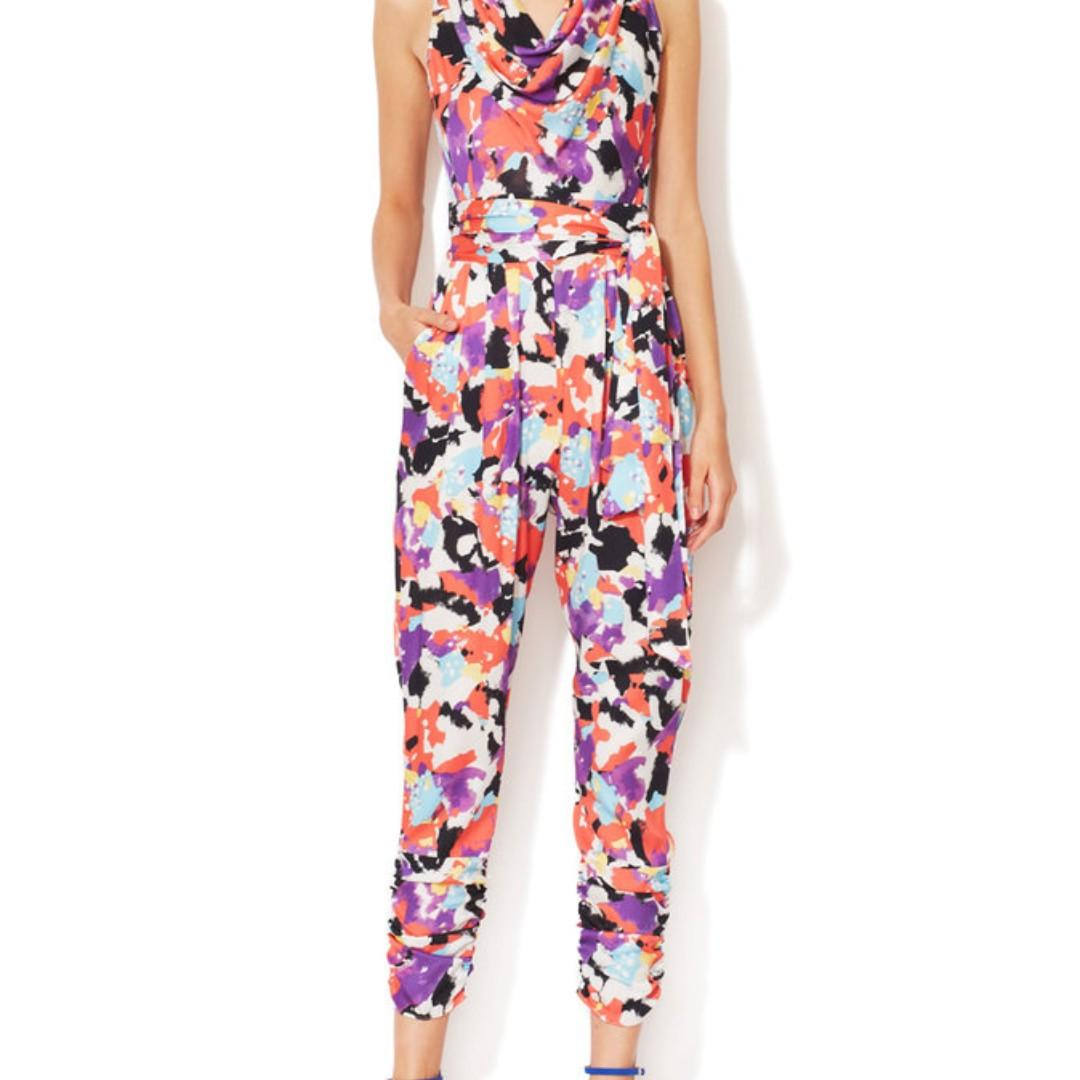 Beautiful brand new designer silk jumpsuit on sale!!