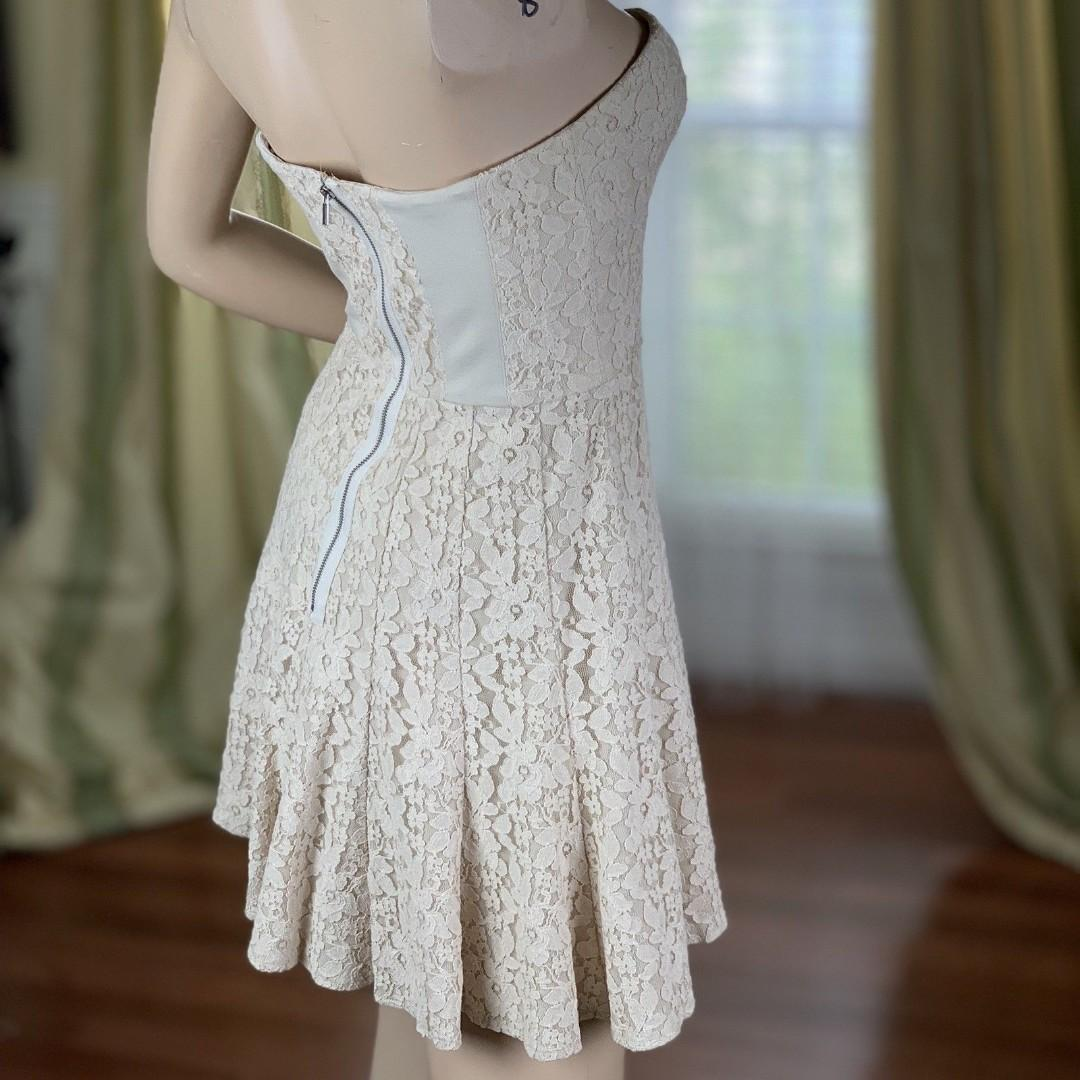Beautiful elegant strapless new BCBG Maxazria dress on sale!
