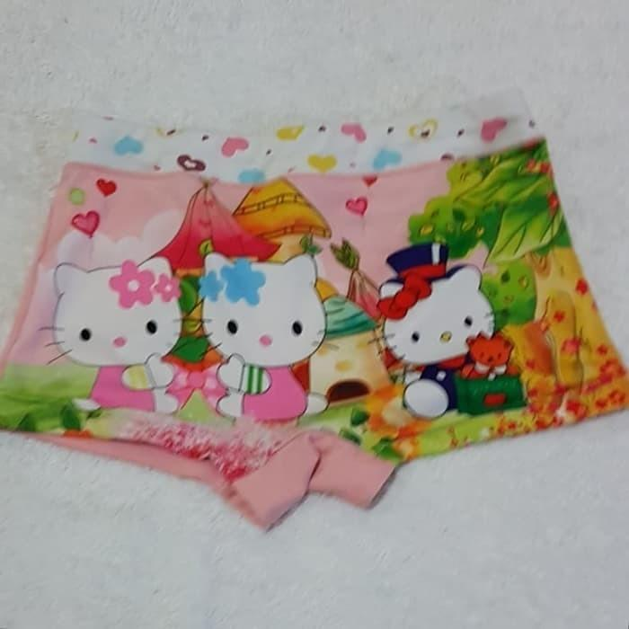 Boxer Celana Dalam HELLO KITTY mix 5 pcs size M (1-3 tahun)