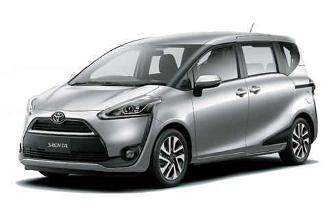 BRAND NEW TOYOTA SIENTA FOR RENT