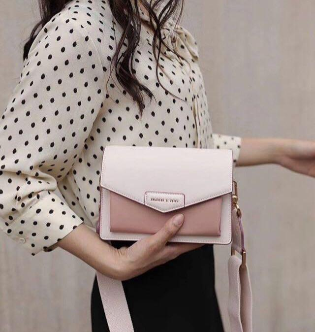 Charles and Keith Satchel Crossbody