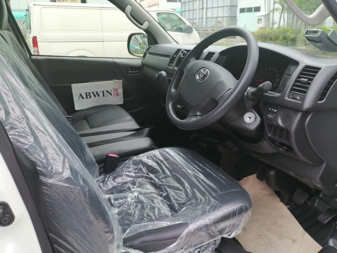 CHEAPEST Brand New Toyota Hiace Rental