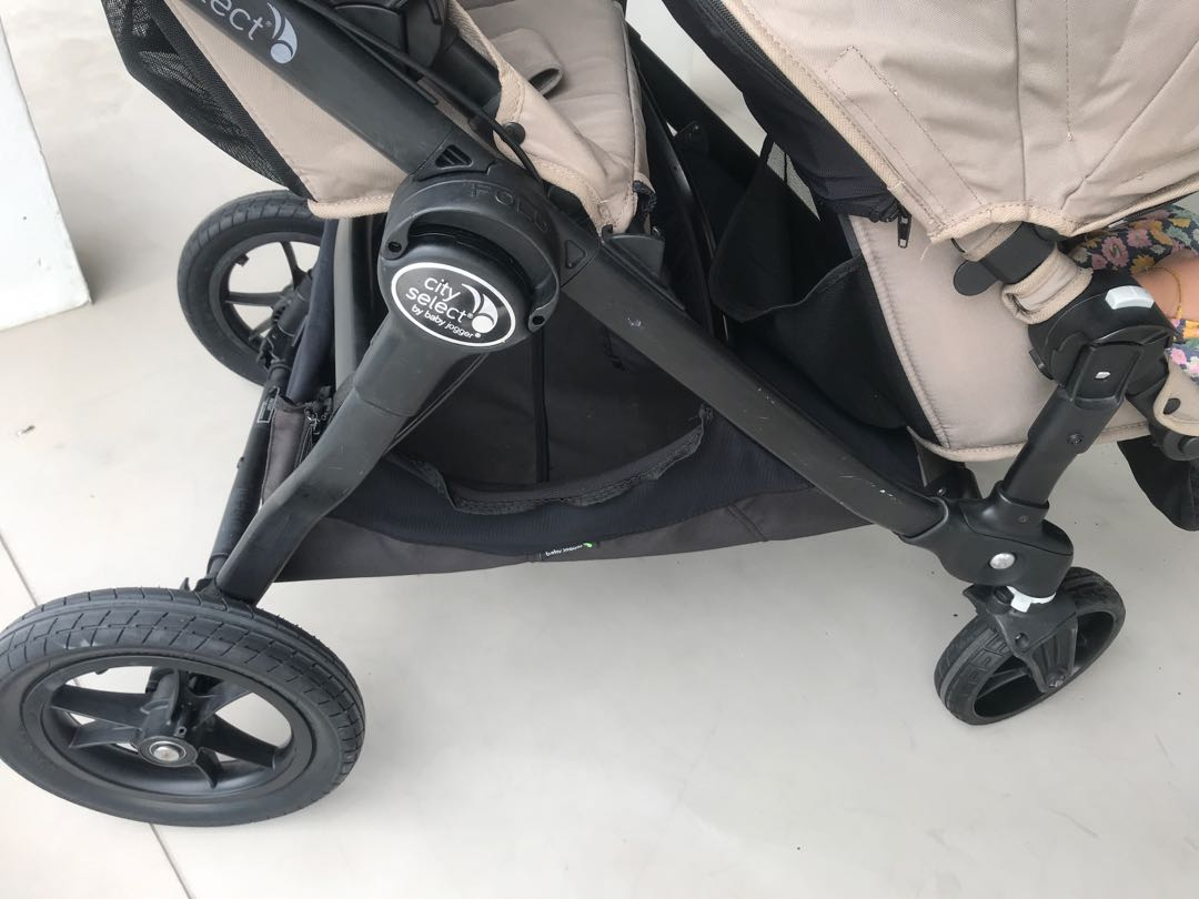 City Select Baby Jogger Double Stroller Twin