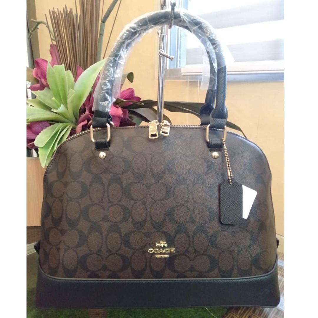 24d50353 Coach Bag 2 in 1 Signature Sierra Satchel Dome Bag Design Crossbody ...