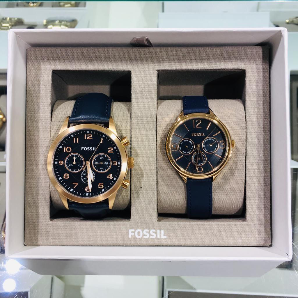 Couple Watch Fossil