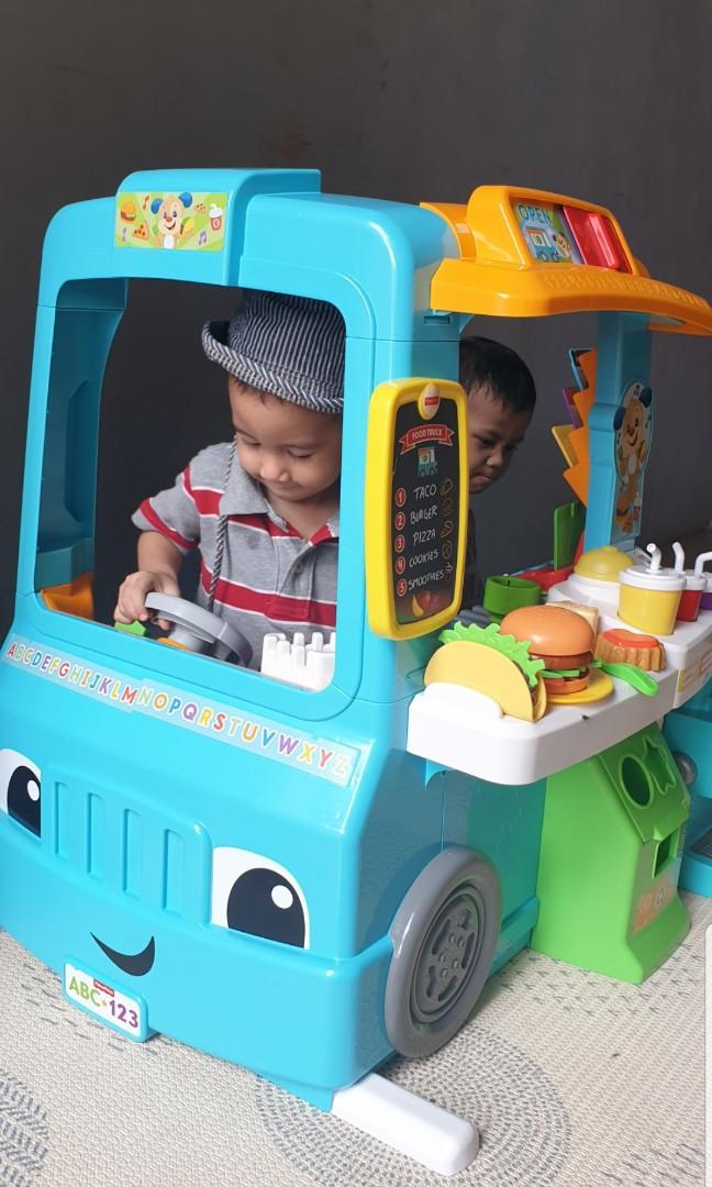 Fisher price food truck rental