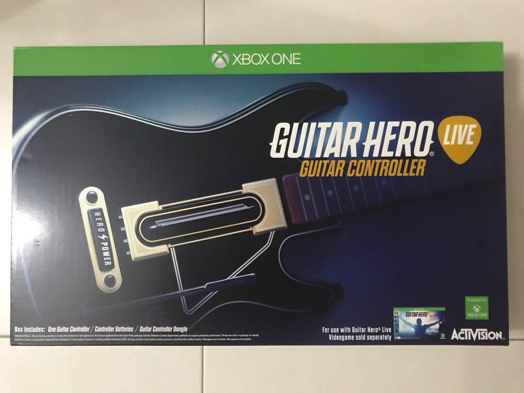 Guitar hero guitar controller (Xbox one), Toys & Games