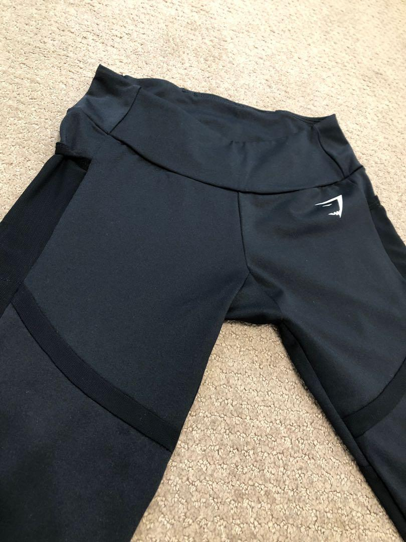 GYMSHARK Mesh Leggings
