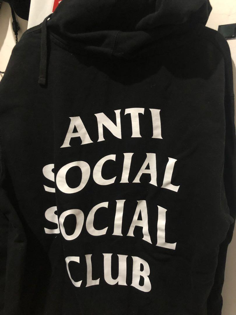 Hoodie 'anti social social club' size m RARE