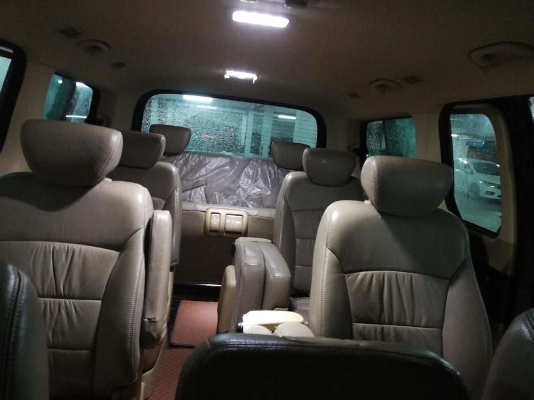 Hyundai Starex for rental/leasing/airport transfer