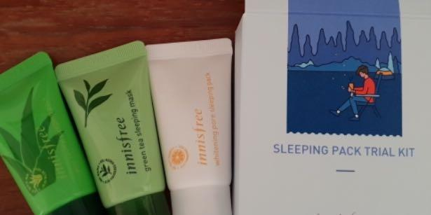 Innisfree trial kit /skincare set of mask trial 2020