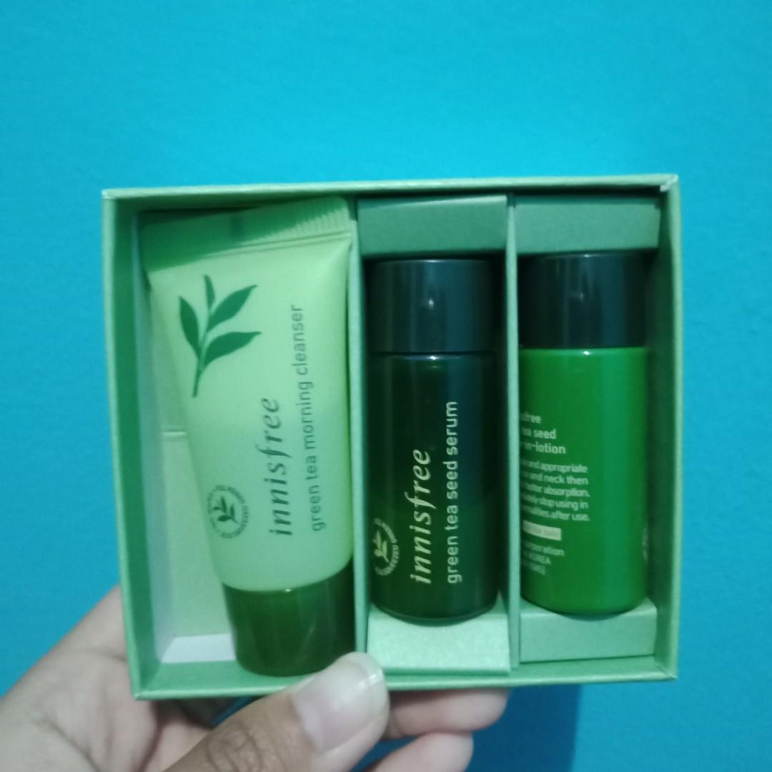 INNISFREE Green Tea Trial Kit for Morning