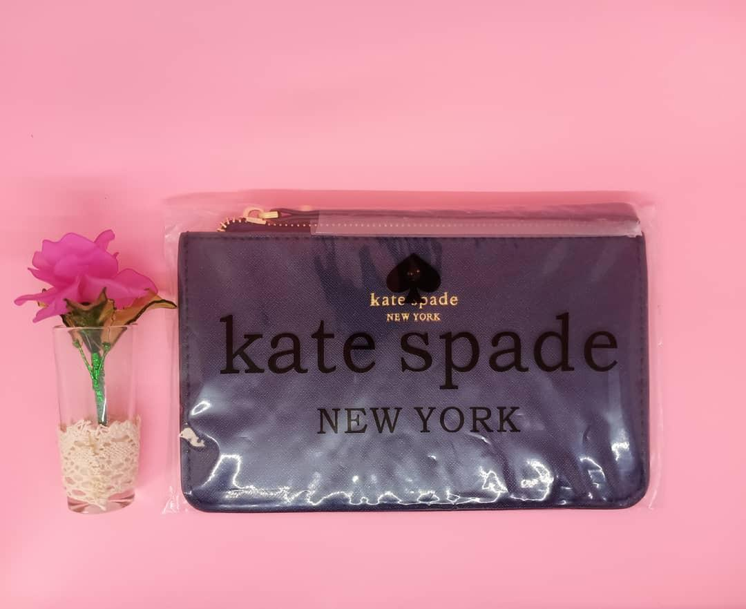 Kate Spade Pouch Wrislet Authentic Black