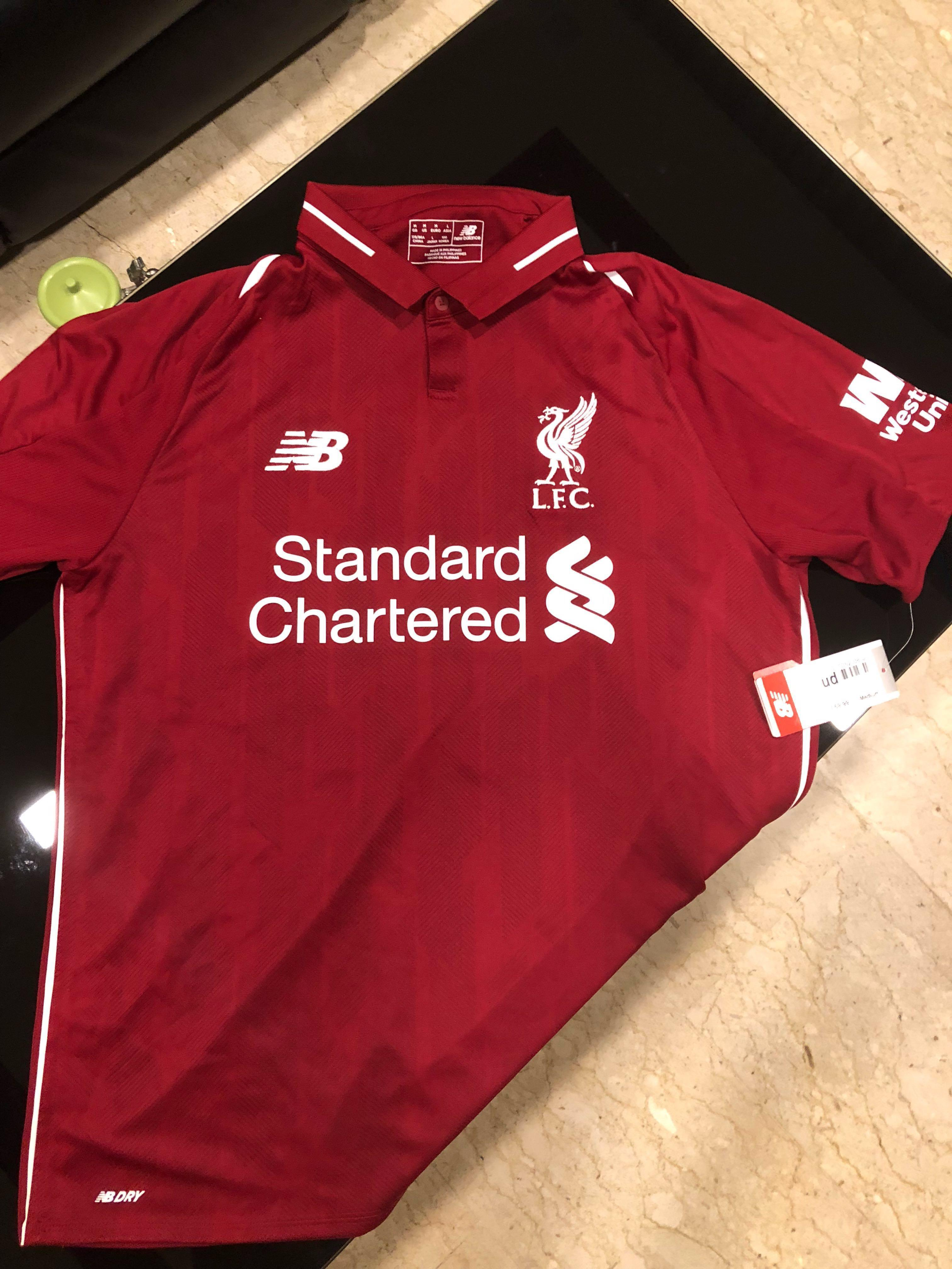 online store b1a5f c0617 Liverpool Fc kit from Anfield. on Carousell